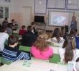 Учащихся старших классов школ балаковских сел приняли участие профориентационном занятии