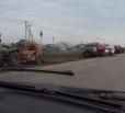 Дорожники выбрасывают на помойку неиспользованный асфальт (фото)