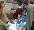 У Дворца Культуры провели праздничную программу, приуроченную к Дню Победы