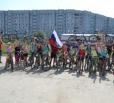 В Балаково прошел велопробег, приуроченный ко Дню государственного флага