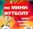 Завтра стартует IX Кубок по мини-футболу среди мужских команд