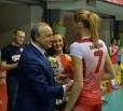 Волейболисткам «Протона» вручили удостоверения и значки мастеров спорта России
