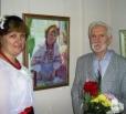 Состоялось открытие персональной выставки художественных картин, посвященной 70-летию Василия Павленко