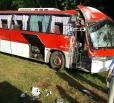 """""""Атомский"""" автобус протаранил столб по дороге на стацию"""