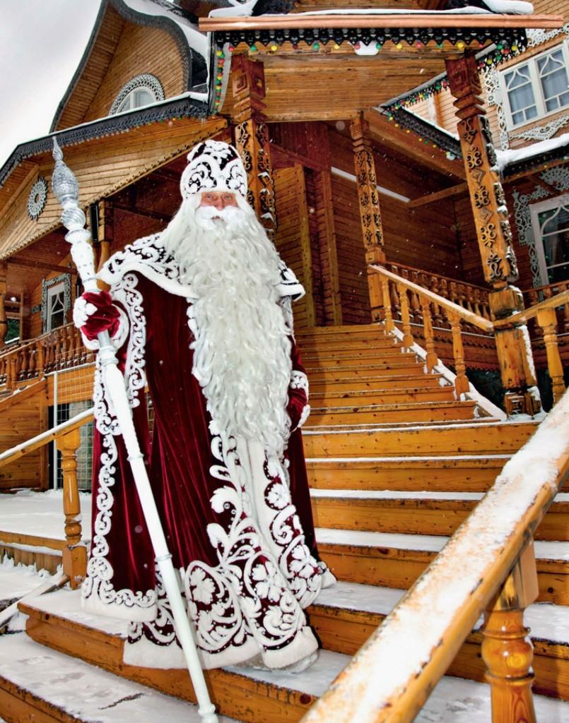 Великий устюг резиденция деда мороза заказать подарок