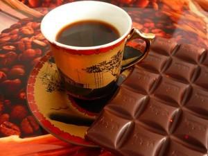 кофе и шоколад