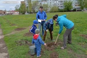 Посади свое дерево_акция_Балаково_2