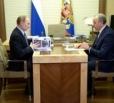 Владимир Путин встретится с врио Губернатора Саратовской области Валерием Радаевым