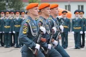 курсанты МЧС