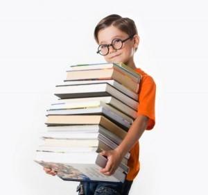 учебники, школьник, ученик