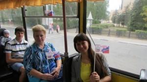 Читающий троллейбус1