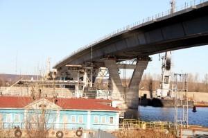 Мост через судоходный канал 19 ноября 2013