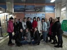 студенты на ГЭС