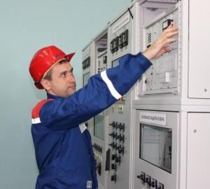 Олег Грошев электромонтер подстанции СарГЭС
