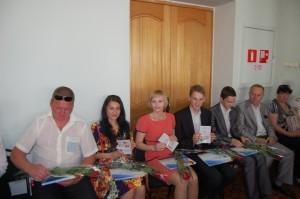 вручение паспортов крымчанам