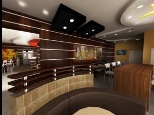 Дизайн ресторана Карлс Дж в Блк 2