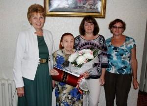 ТА Шошкина Говорова Лидия Ивановна 90 лет 9 сентября 2014