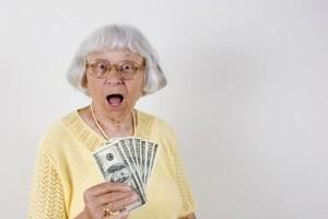 бабушка_деньги