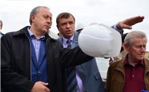 Радаев_визит в балаково_мост