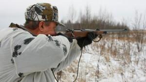 охотник_зимняя охота
