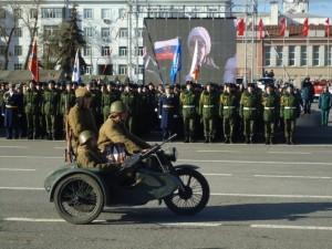 кадеты сош 16 парад памяти
