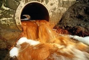 сток грязная вода сброс