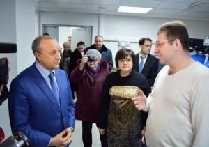 гемодиализный центр балаково_визит губернатора