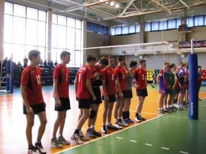 турнир по волейболу среди юношей
