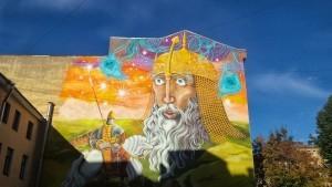 граффити сказки