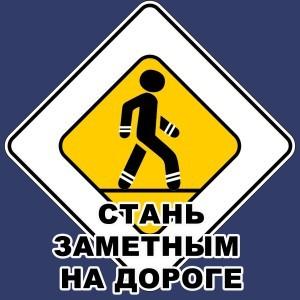 Стань заметным на дороге_акция_лого