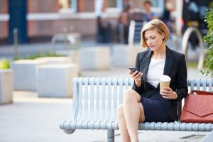 бизнес леди телефон женщина