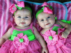 дети, младенцы, близнецы, двойняшки