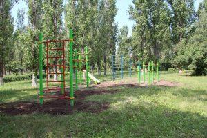 парк гэс_турники_спортивная площадка
