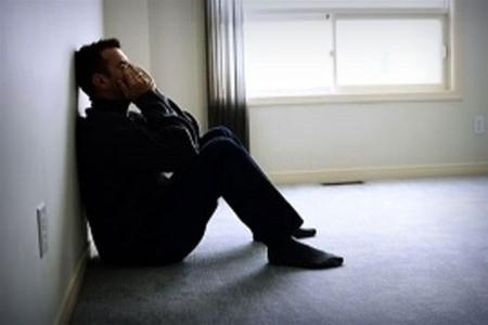 мужчина одиночество печаль