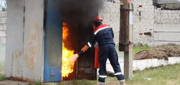 пожар будка